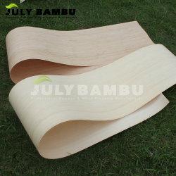 La piega di legno di bambù dell'impiallacciatura di alta qualità può fare per moltiplicare l'impiallacciatura