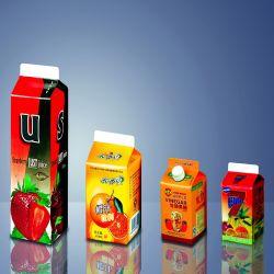 Gable Top Emballage en carton manchons pour Elopak et SIG Machine de remplissage