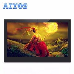 프로모션 광고 디스플레이 데스크 스탠드 LCD 디스플레이 13인치 HD 디지털 사진 프레임 시계