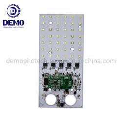 10W 1750lm RoHS 3.2V DC de certification CE SMD LED Dob sans conducteur carré LED PCB Module PCBA pour LED solaire lampadaire