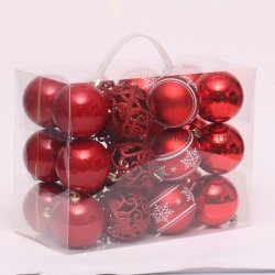 Boule de Noël de décoration de Noël pour l'arbre de Noël artificiel cadeau de mariage ACCUEIL Decortion