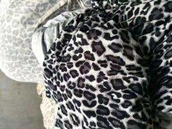 Запасов трикотажные Leopard напечатано спандекс для одежды ткани