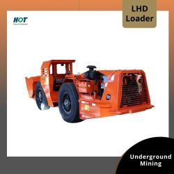坑内用ローダデル電気式 LHD ホイールローダダンプトラックローダ 小型油圧ショベル LHD