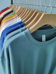 قميص مع قميص مطرز بحجم كبير وقمصان مع قميص للرجال قميص أنيق الطباعة تي شيرت تخصيص الشعار المخصص تي شيرت