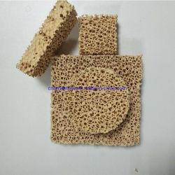 Filter van het Schuim van het zirconiumdioxyde de Ceramische voor het Afgietsel en de Gieterij van het Ijzer