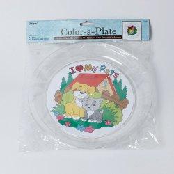 Design acrylique 21910 une plaque pour la coloration, 1PC avec du papier 3 Designer