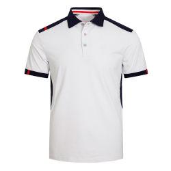 أبيض لون فراغ نمو جديدة يطبع عامة لعبة البولو لعبة غولف [ت] قميص