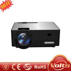 Proiettore all'ingrosso del cinematografo del teatro domestico di multimedia HD Beamer Native1080p del LED video