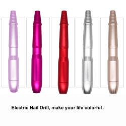 Benutzerdefinierte Logo Werbegeschenk Maniküre Set Portable Elektro Nail Drill Geschenk