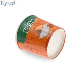 100% 친환경 크라프트 제조 종이 수프 컵 용지 덮개