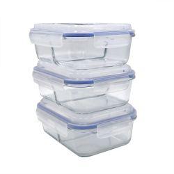 Conteneur de stockage alimentaire imbriqués set divisé en plastique contenant des aliments