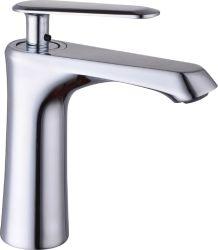 Colpetto del rubinetto del miscelatore dell'acqua del rubinetto del dispersore dell'acqua del bacino della stanza da bagno dello zinco del bicromato di potassio della maniglia dello zinco