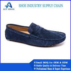 Mann-lederner Kleid-Schuh-Hersteller, Mann-formales Schuh-Leder echt
