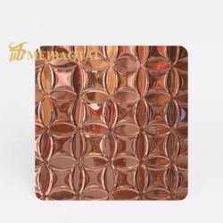 Новая конструкция Foshan Hotel указан класс 304 из нержавеющей стали декоративные панели потолка закрывается Gold схема панели металлическая пластина