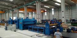 Tagliatrice per lamiere/acciaio pesante per taglio a lunghezza Linea