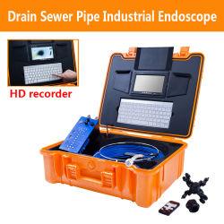 Câmara de inspecção HD 1080P de 25 mm sistema industrial de esgotos/tubos com DVR LED de 7 polegadas 20 m 12 UNIDADES