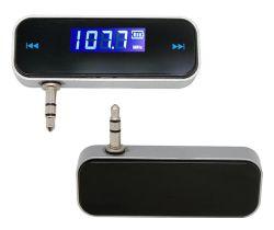 F1 de 3,5 mm portátil Micro USB AUX AUTO Transmisor FM para teléfono móvil
