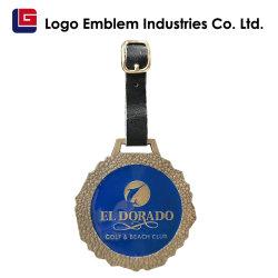Design personalizado de qualidade de liga de zinco Sala Tag-Corporate Dom, Hotel, Golf Club