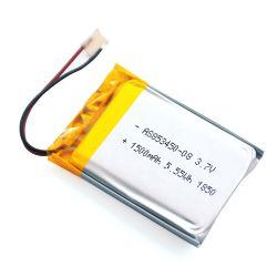بطارية ليثيوم بوليمر معتمدة من المصنع IEC62133 UL KC 853450 3.7 فولت 1500 مللي أمبير/ساعة