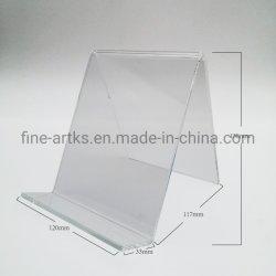 Groothandel Countertop Clear Acryl Telefoon iPad Watch Makeup Display stand Houder voor mobiele laptop