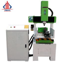 Legno di pietra di alluminio che elabora la mini macchina di CNC di taglio dell'incisione 6090 1212