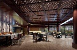 중국 전통적인 호텔 공중 지역 나무로 되는 식당 가구