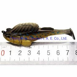 バストラウトのためのスリーパー釣は、恐れをたての Lures のパドルの尾をくわえてくわれる スイムベイトソフトフィッシングバイフシュウォーター塩水ジギンスバスフィッシングレシュ
