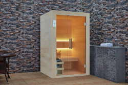 Customized Hotel Family Pedra Cultura Interior Sauna WS-1904 de madeira