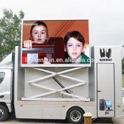 옥외 P6 이동하는 트럭 또는 차 광고하는 이동할 수 있는 영상 발광 다이오드 표시