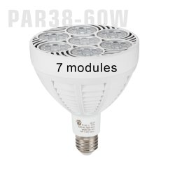 60W indicatori luminosi di alluminio del punto della lampadina dei monili dell'inondazione PAR38 LED di PARITÀ 38 di PARITÀ 38 LED 110V 120V ETL E26 E27 3000K 4000K 8000K 10000K Dimmable 40W 50W