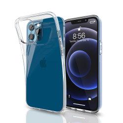 Commerce de gros vrac TPU souple en silicone transparent cellulaire Mobile Accessoires de téléphone cellulaire le couvercle arrière Étui pour iPhone 11/12 Mini/PRO Max/X/Xr/xs