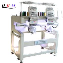 Neue doppelte flache Stickerei-Hauptmaschine mit Stickerei-Bereich 360*1200mm Using Dahao neuestes Steuersystem