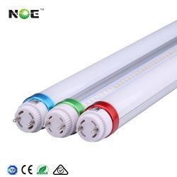 120lm/W a 180lm/W del tubo de aluminio de 18 vatios de luz LED Tubos Fluorescentes T8 4FT 18W 1200mm de la luz del tubo LED T8