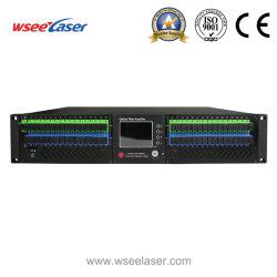 8/16/32/64 de 8 puertos de entrada EDFA de salida de 16puertos 10dBm 1550nm Erbium-Doped Amplificador de fibra óptica con WDM