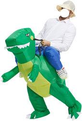 Costume de dinosaure gonflables pour les adultes, T-Rex Costume, sauter d'Halloween Costume