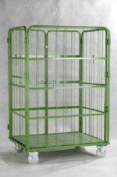 Adattamento del metallo di prezzi preferenziali: Carrello di logistica, gabbia di ferro di logistica, cassetto del metallo di logistica