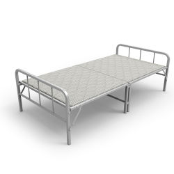 ホテルのゲストモデル寝室の家具のための木のスラットのベッド