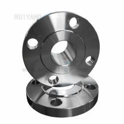 ASTM B381 Gr عالي الضغط مطروق شفة من نوع تيتانيوم من الفئة 5