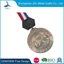 Metal personalizados promocionais Medalha de Ouro de Antiguidades de Salt Lake City Eventos da Mola