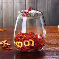 Haut verre borosilicaté pot en verre flacons en verre produit de cuisine