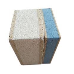 Aislamiento ignífugo EPS Sandwich de cemento de XPS de hojas de pared MGO Placas para prefabricados Casas