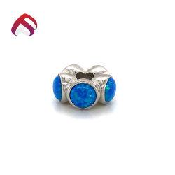 جديدة أسلوب 925 [سترلينغ سلفر] أوبال ينظم مجوهرات مدلّاة مع زرقاء أوبال أحجار لأنّ نمو سلسلة