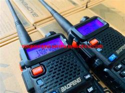 Longue distance sans fil UV Baofeng-5r Ce RoHS sans licence d'approbation de la FCC un talkie-walkie