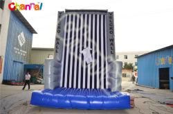 Material de PVC exterior inflables juegos inflables de pared de escalada en roca para adultos o niños