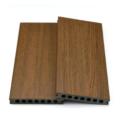 Decking vuoto di plastica di legno del composto WPC del giardino esterno impermeabile all'ingrosso