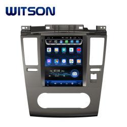 """Witson 9.7 de """" Grote Van verschillende media van de Auto van het Scherm van het Scherm Androïde 9.0 Verticale Auto DVD van Tesla voor Nissan Tiida 2008-2011"""