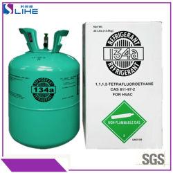 99.9% Gas Refrigerant R-134A/R134A del condizionamento d'aria dell'automobile di purezza