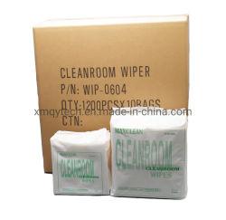 Soft 50GSM 4x4pol Industrial Spunlaced papel limpa-vidros limpeza óptica