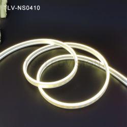 Super Slim 4*10mm Silicone tube Néon led Flex de la lumière avec 120/M Strip
