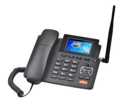4G sem fio do telefone fixo de Viragem com hotspot WiFi MW 3.5INCH-69c - Exibir